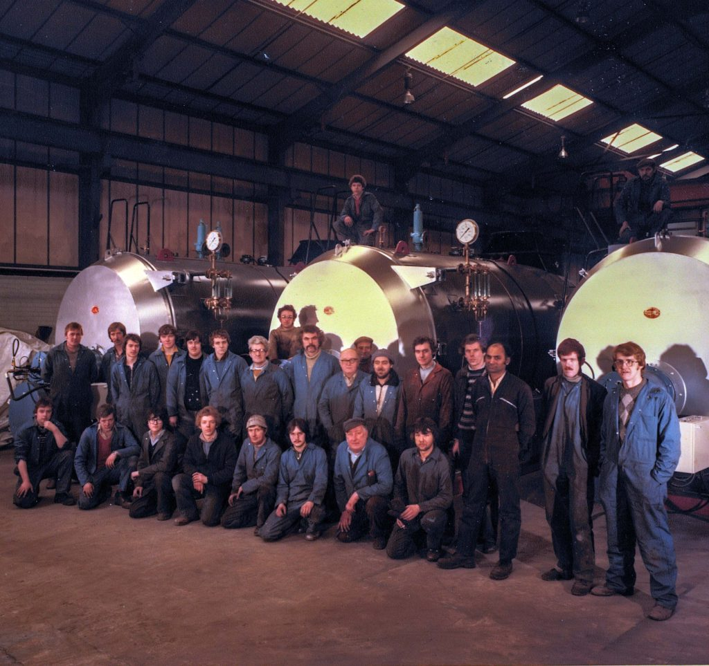 Early workforce of Byworth Boilers